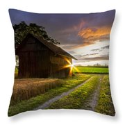 A Moment Like This Throw Pillow by Debra and Dave Vanderlaan