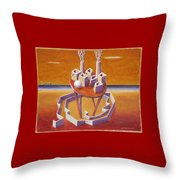 A Peasents Dream  Throw Pillow by Dimitris Milionis