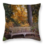 A Place To Rest Throw Pillow by Jessica Jenney
