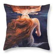 A Trick Of The Light - Love Is Illusion Throw Pillow by Marco Busoni