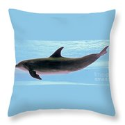 A Very Friendly Fellow Throw Pillow by Methune Hively