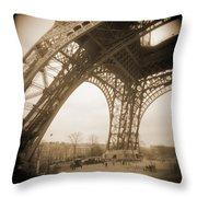 A Walk Through Paris 13 Throw Pillow by Mike McGlothlen