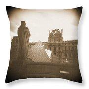 A Walk Through Paris 16 Throw Pillow by Mike McGlothlen