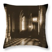 A Walk Through Paris 26 Throw Pillow by Mike McGlothlen