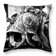 A Warrior Remembered Throw Pillow by Scott  Wyatt