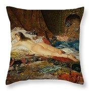 A Wealth Of Treasure Throw Pillow by Della Rocca