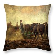 A Woman's Work Is Never Done Throw Pillow by Trish Tritz