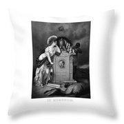Abraham Lincoln In Memoriam Throw Pillow by War Is Hell Store