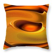 Abstrac8-15-09 Throw Pillow by David Lane