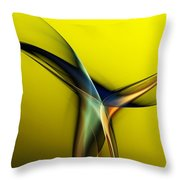 Abstract 060311 Throw Pillow by David Lane