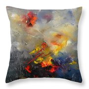 Abstract 0805 Throw Pillow by Pol Ledent