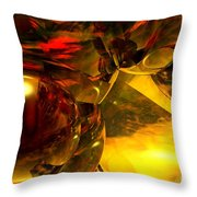 Abstract 5-21-09 Throw Pillow by David Lane