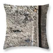 Abstract Concrete 16 Throw Pillow by Anita Burgermeister