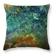Abstract Design 27 Throw Pillow by Michael Lang