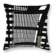 Abstract Reflection 16 Throw Pillow by Sarah Loft