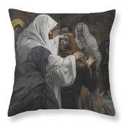 Address To Saint Philip Throw Pillow by Tissot