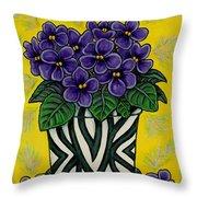 African Queen Throw Pillow by Lisa  Lorenz