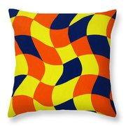 Afrika Throw Pillow by Oliver Johnston