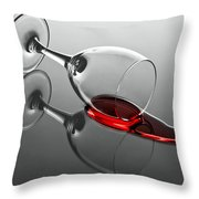 After The Party Throw Pillow by Gert Lavsen