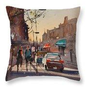 Afternoon Light Throw Pillow by Ryan Radke