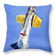 Air Show Throw Pillow by Marc Stewart