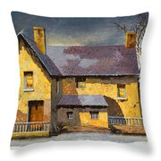 Al Mattino Throw Pillow by Guido Borelli