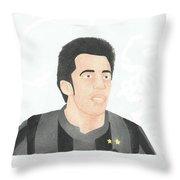 Alessandro Del Piero Throw Pillow by Toni Jaso