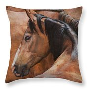 Almost Dun Throw Pillow by JQ Licensing