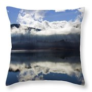 Almost Heaven Throw Pillow by Mike  Dawson