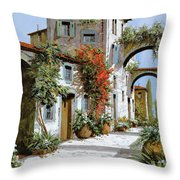 Altri Archi Throw Pillow by Guido Borelli