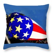 American Legend Throw Pillow by David Lee Thompson