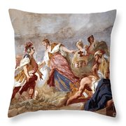 Amigoni: Dido And Aeneas Throw Pillow by Granger