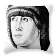 Ancient Roman Throw Pillow by Donna Proctor