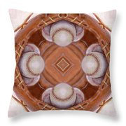 Angels in the Outfield Throw Pillow by Maria Watt