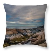 Another Day On Earth Throw Pillow by Irene Suchocki