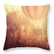 Anything Is Possible Throw Pillow by Irene Suchocki