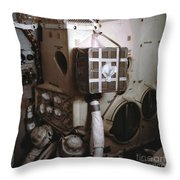 Apollo 13s Mailbox Throw Pillow by Nasa