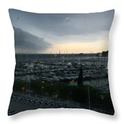 Approaching Storm Throw Pillow by Andy  Mercer