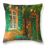 Arbour Throw Pillow by William Ireland