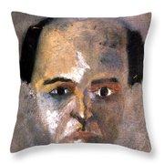 Arnold Schoenberg Throw Pillow by Granger