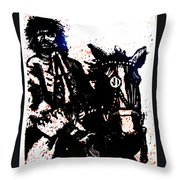 Rogue Of The Road Throw Pillow by Seth Weaver