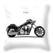 Honda Fury Throw Pillow by Mark Rogan
