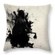 Viking Throw Pillow by Nicklas Gustafsson