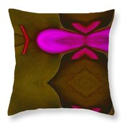 Asian Popart Throw Pillow by Pepita Selles