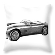 Aston Martin Db-5 Throw Pillow by Peter Piatt