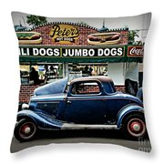 At Peter's Throw Pillow by Perry Webster