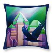 Atlantis Throw Pillow by Brian  Commerford