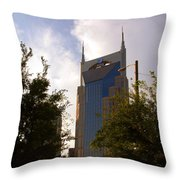 Att And Batman Are The Same Throw Pillow by Susanne Van Hulst