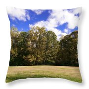 Autumn Skies Throw Pillow by Bill Cannon