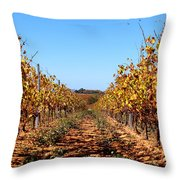 Autumn Vines Throw Pillow by K McCoy